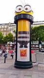 Spettacolo del servo a Parigi fotografia stock