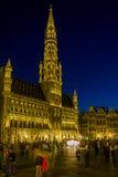 Spettacolo di luci a Bruxelles Fotografie Stock