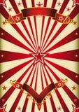 Spettacolo di rosso del fondo Immagine Stock Libera da Diritti