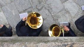 Spettacular musik tim Italien Arkivfoto