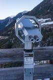 Spettatore binoculare a gettoni Fotografie Stock Libere da Diritti