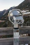 Spettatore binoculare a gettoni Immagine Stock
