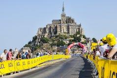 Spettatori del Tour de France di Le Immagini Stock