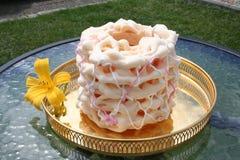 Spettkaka - um bolo especial de Skane, a parte sul da Su?cia, fotos de stock royalty free