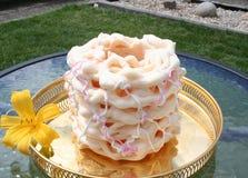 Spettkaka - um bolo especial de Skane, a parte sul da Su?cia, fotos de stock