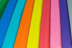 Spettro di colore di carta Immagini Stock Libere da Diritti