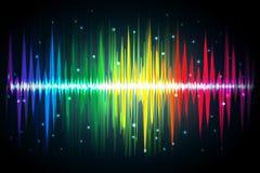 Spettro di volume illustrazione vettoriale