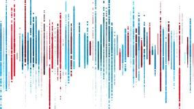 Spettro variopinto su bianco illustrazione vettoriale