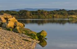 Spey zatoki zmierzch. fotografia royalty free