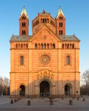 Speyer Cathedral with blue sky, Germany Stock Image
