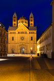 Speyer cathedral at dawn, Pfalz, Germany Royalty Free Stock Images