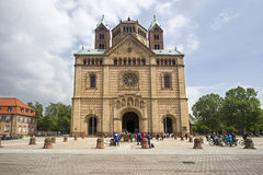 Speyer Cathedral, Germany Stock Images
