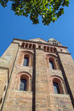 Speyer Cathedral. On a sunny day Royalty Free Stock Images