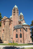 Speyer Cathedral. On a sunny day Royalty Free Stock Photo