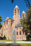 Speyer Cathedral. On a sunny day Stock Photo