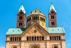 The Speyer Cathedral, a UNESCO heritage site Royalty Free Stock Photography