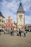 Speyer Clocktower, Deutschland Lizenzfreie Stockbilder