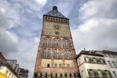 Speyer Clocktower, Germany Stock Photo