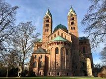 Speyer domkyrka, Tyskland Arkivfoton
