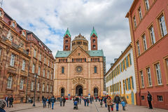 Speyer-Kathedrale Stockbild