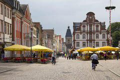 Speyer main street, Germany Stock Image