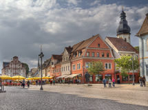 Speyer main street, Germany Royalty Free Stock Images