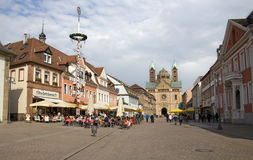 Speyerhoofdstraat, Duitsland Royalty-vrije Stock Foto