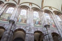 Speyerkathedraal, Duitsland stock foto's