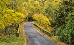 Speyside im Herbst Lizenzfreies Stockfoto