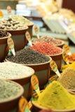 Spezia del bazar egiziano della spezia Fotografia Stock