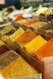 Spezia del bazar egiziano della spezia Immagine Stock