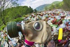 Spezialoperation, zum des Flusses des Rückstands aufzuräumen Stockfotografie