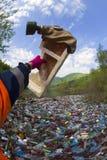 Spezialoperation, zum des Flusses des Rückstands aufzuräumen Stockbild