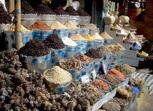 Spezie in bazar egiziano immagine stock