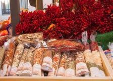 Spezie e peperoncino rosso Fotografie Stock Libere da Diritti