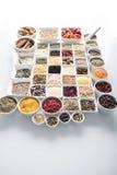 Spezie e tema delle leguminose Immagini Stock Libere da Diritti