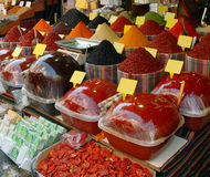 Spezie nel mercato turco Immagine Stock