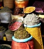 Spezie nel servizio a Marrakesh, Marocco Immagine Stock Libera da Diritti