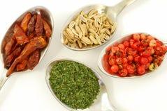 Spezie, sapori ed aromi Immagini Stock