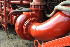 Spezielle Ausrüstung für die steigende Kapazität am Ölbergbauplatz lizenzfreie stockfotos