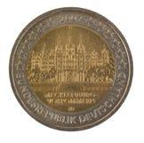 Spezielle deutsche Euromünze Stockbild