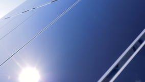 Spezielle Energieplatten, Abschluss oben stock video