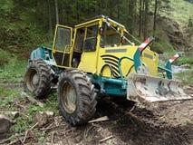 Spezielle Forstwirtschaftstraktoren Lizenzfreies Stockfoto