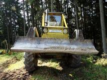 Spezielle Forstwirtschaftstraktoren Lizenzfreies Stockbild
