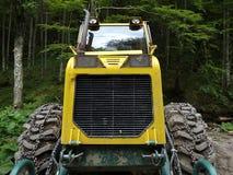 Spezielle Forstwirtschaftstraktoren Stockfoto