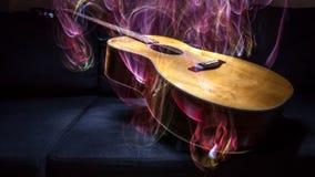 Spezielle Gitarre Stockbild