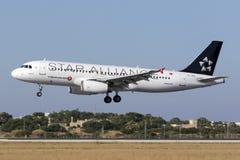 Spezielle Livree Turkish Airlines A320 Lizenzfreie Stockfotografie