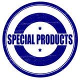 Spezielle Produkte stock abbildung