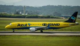Spezieller Azul Airlines Airplane stockfotografie