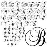 Spezieller Designsatz ABC-Alphabetes Stockfotografie